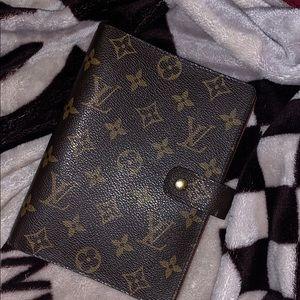 Authentic Louis Vuitton Notepad.